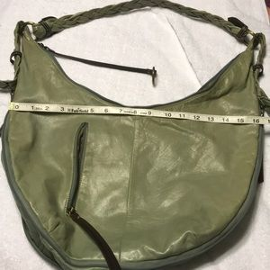 Nino Bossi large hobo bag